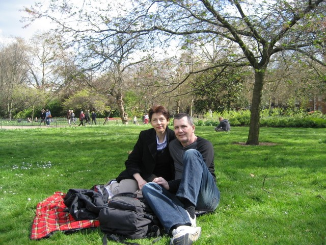 Lunch in St James Park