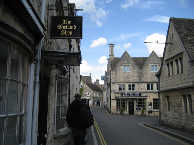 A side street in Painswick